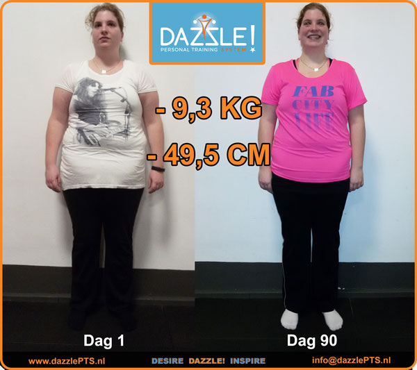 results ronah van gijsel personal trainer eindhoven